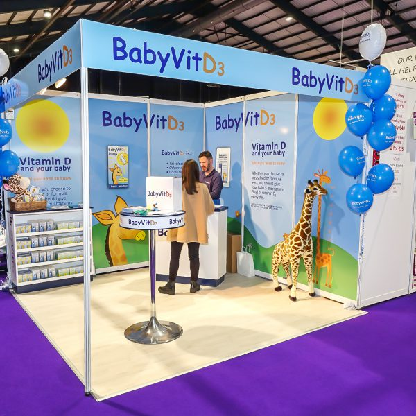 BabyVit at Pregnancy & Baby Fair 2016