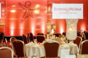 Bord Na Mona stage at Tullamore Chamber Awards 2016