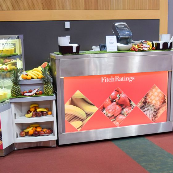 Catering branding at ICMA 2016