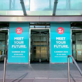 CCD branding at Career ZOO 2015