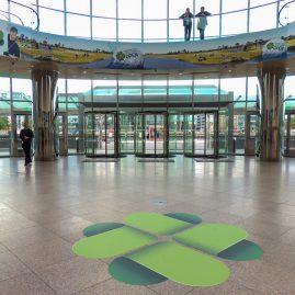 CCD foyer branding at DSCCOP Open 2015
