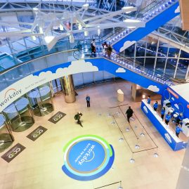 CCD foyer branding at Workday Rising 2015