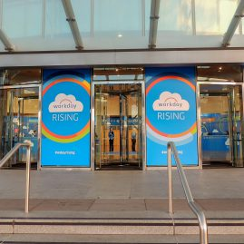 CCD entrance branding at Workday Rising 2015