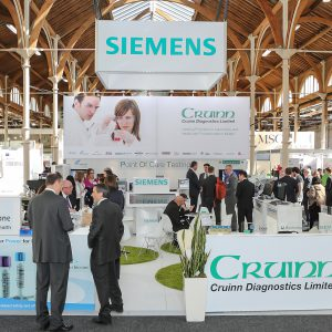 Cruinn at Biomedica 2016, Hall 4 (Industries Hall)
