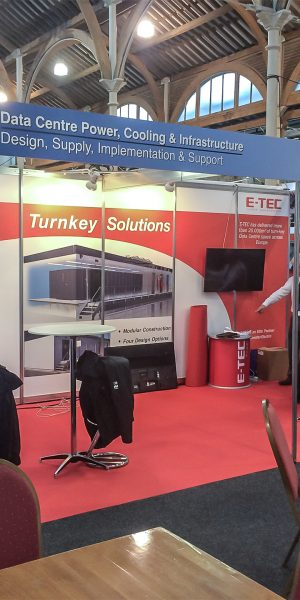 E-tec at Datacentres Ireland 2015