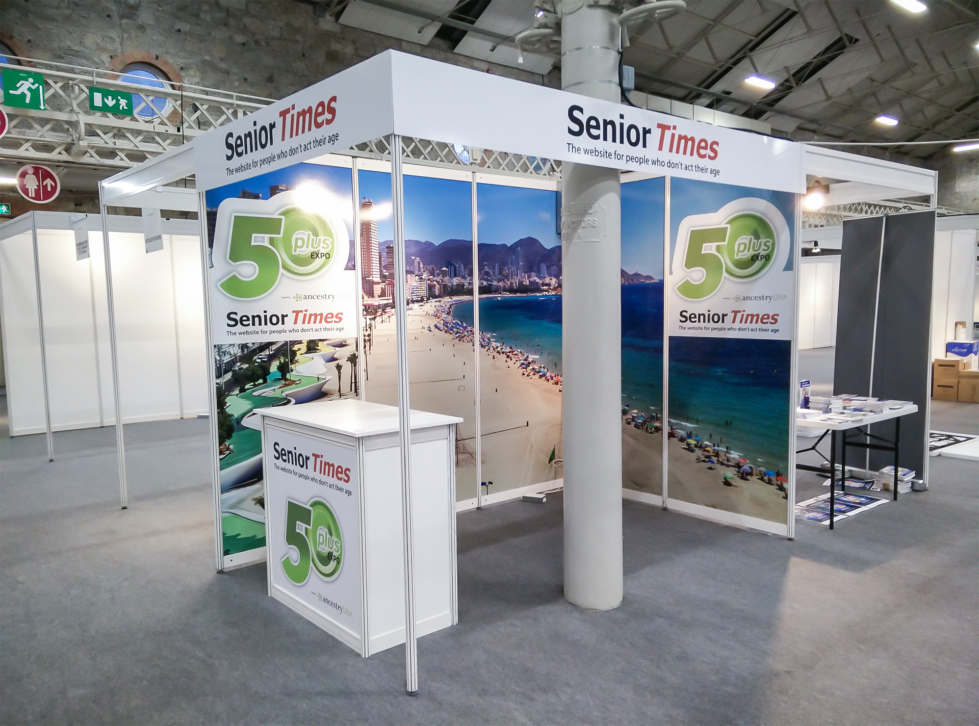 Exhibition Booth Standard Shell Scheme : Shell system total expo