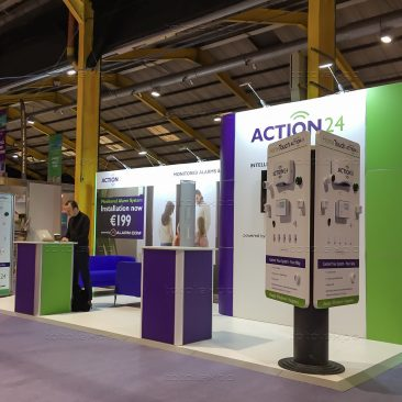Action24 at Ideal Home Show April 2019