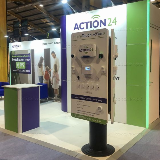 Action24 at Ideal Home Show October 2019
