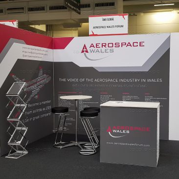 Aerospace Wales at Airline MRO Olympia 2019