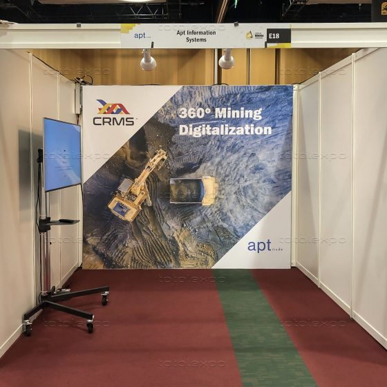 Apt Information Systems at European Mining Convention