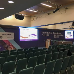 Stage at Bioproduction Congress 2018