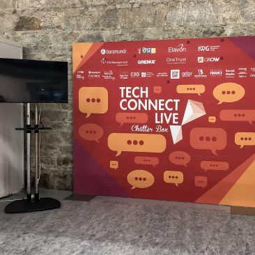 Backdrop at Tech Connect 2019