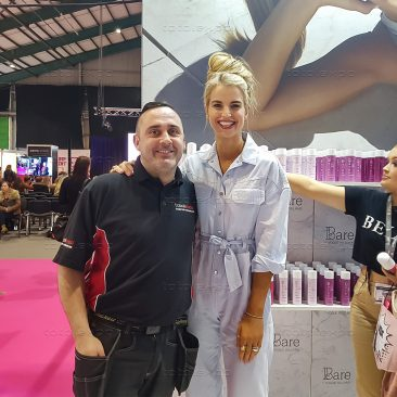 Bare by Vogue Williams at Irish Beauty Show 2019