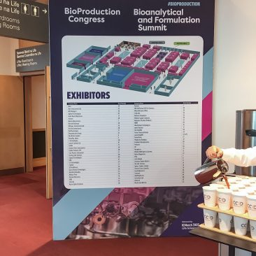 CCD branding at Bioproduction Congress 2018