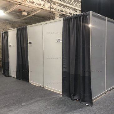Changing room at Perform Ireland 2019