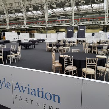 Dinner Area at Airline MRO Olympia 2019