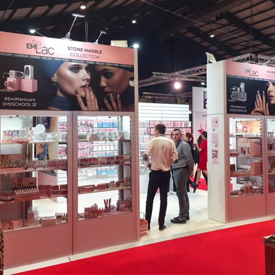 E.Mi School at Professional Beauty Ireland 2018