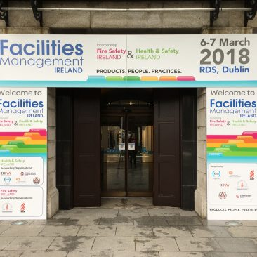 Entrance Branding at FM Ireland 2018