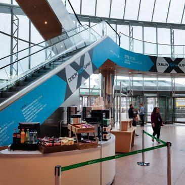 Escalator Branding at Dublin Tech Summit 2018