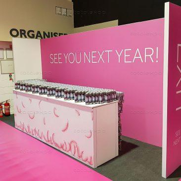 Exit Branding at Irish Beauty Show 2020