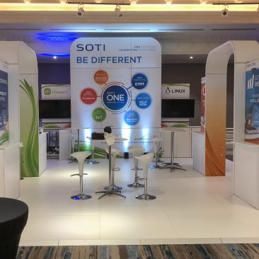 Feature Tower at SOTI Sync 2018