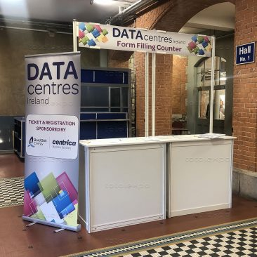 Form filling counter at Datacentres 2019
