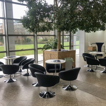 Furniture at UCD Graduate Open Evening 2020