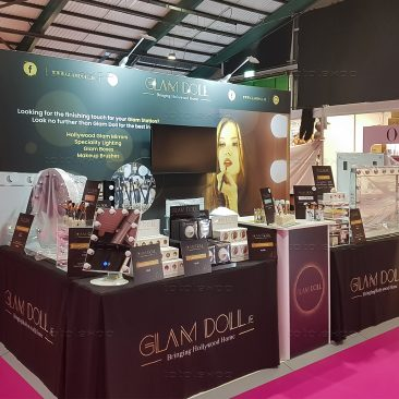 Glam Doll at Irish Beauty Show 2019