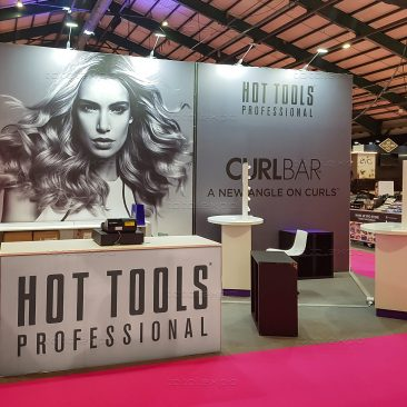 Hot Tools at Irish Beauty Show 2019
