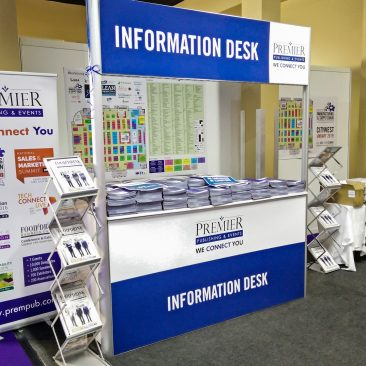 Information Desk at Manufacturing Expo 2018