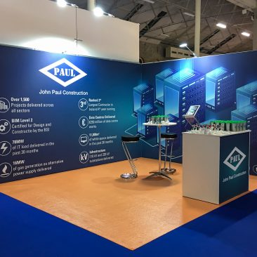 John Paul Constructions at Datacentres 2018