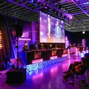 Main Stage at Dublin Games Festival 2018