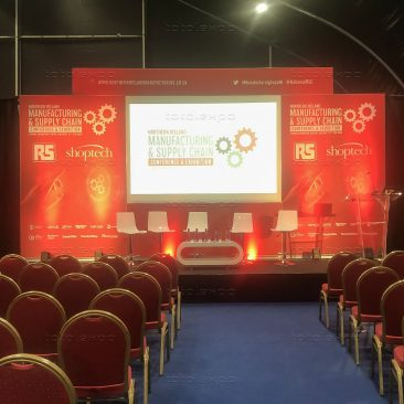 Main Stage at Northern Ireland Manufacturing Expo 2020