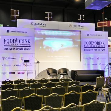 Main stage at Food & Drink 2017