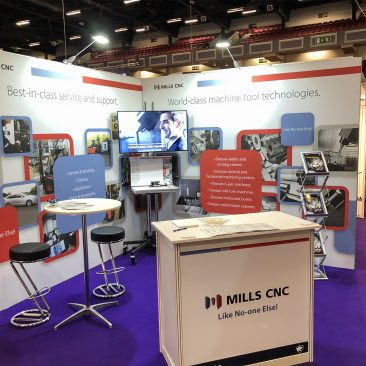 Mills CNC at Manufacturing Expo 2019
