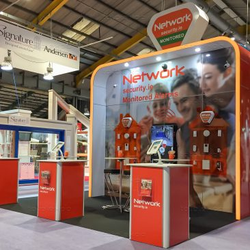 Network Security at Ideal Home Show April 2019
