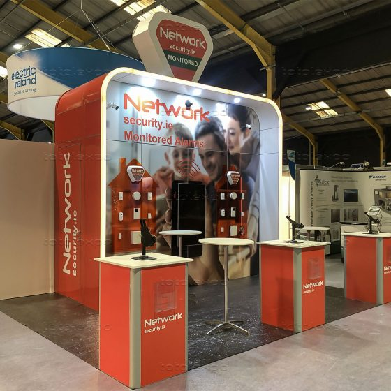 Network Security at Ideal Home Show October 2019