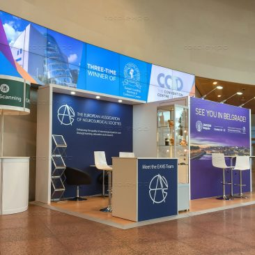 Organiser booth at EANS 2019