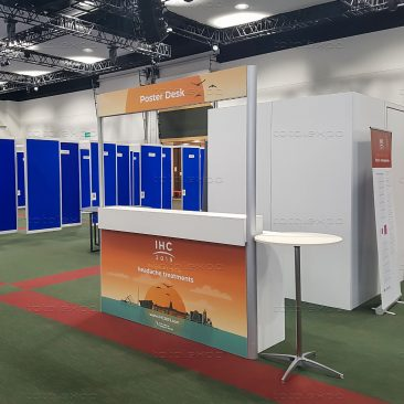 Poster Desk at IHC 2019