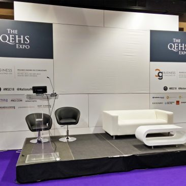 QEHS Stage at Manufacturing Expo 2018