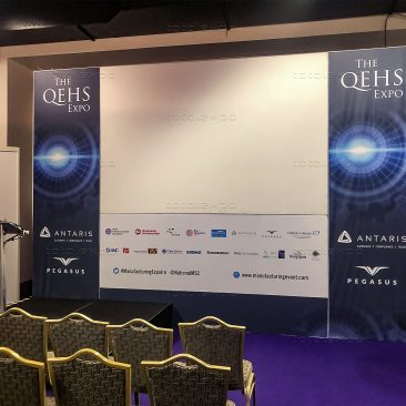 QEHS Stage at Manufacturing Expo 2020