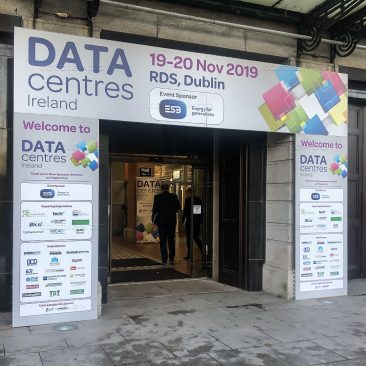 RDS entrance at Datacentres 2019