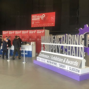 Registration Desk at Northern Ireland Manufacturing Expo 2020