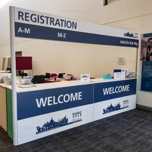 Registration Desk at EUGEO 2019