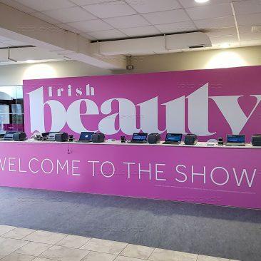 Registration Desk at Irish Beauty Show 2020