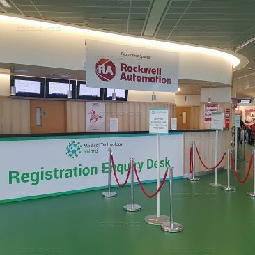 Registration Desk at Medical Technology 2019