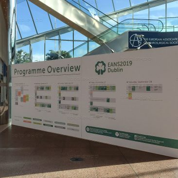 Registration area at EANS 2019
