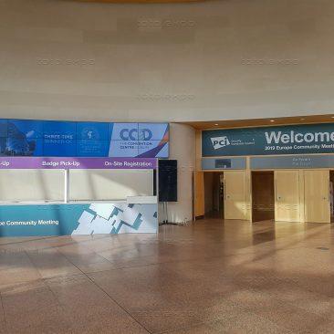 Registration desk at PCI Security Congress 2019