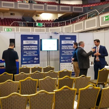 Seminar area at Construction Summit 2019