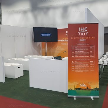 Seminar area at IHC 2019